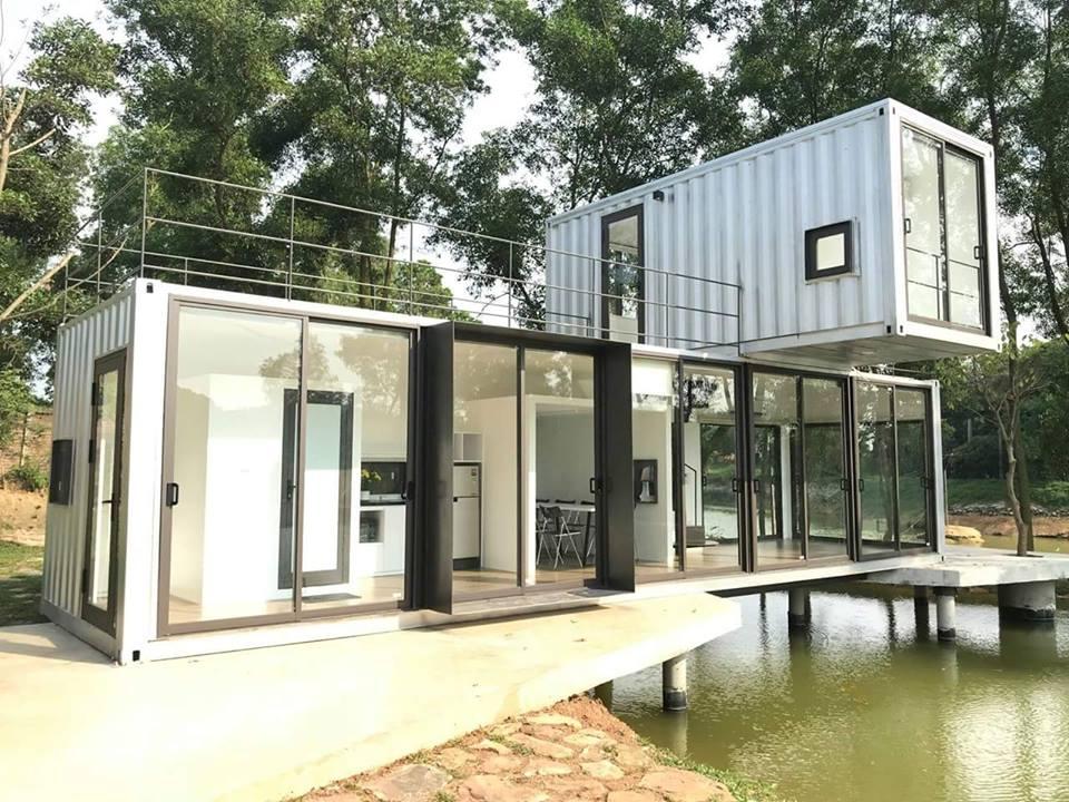 Top 10 Mẫu nhà Container 2 tầng cực đẹp phù hợp vợ chồng trẻ