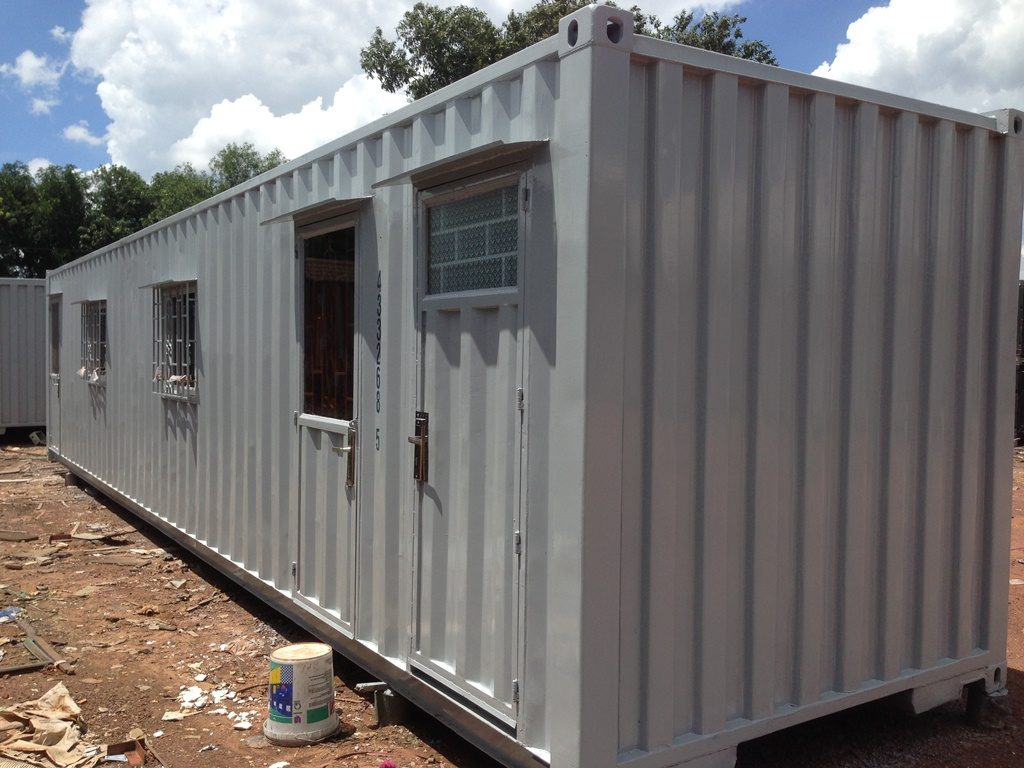 Tây Nam Container | Container Văn Phòng 40 Feet Toilet