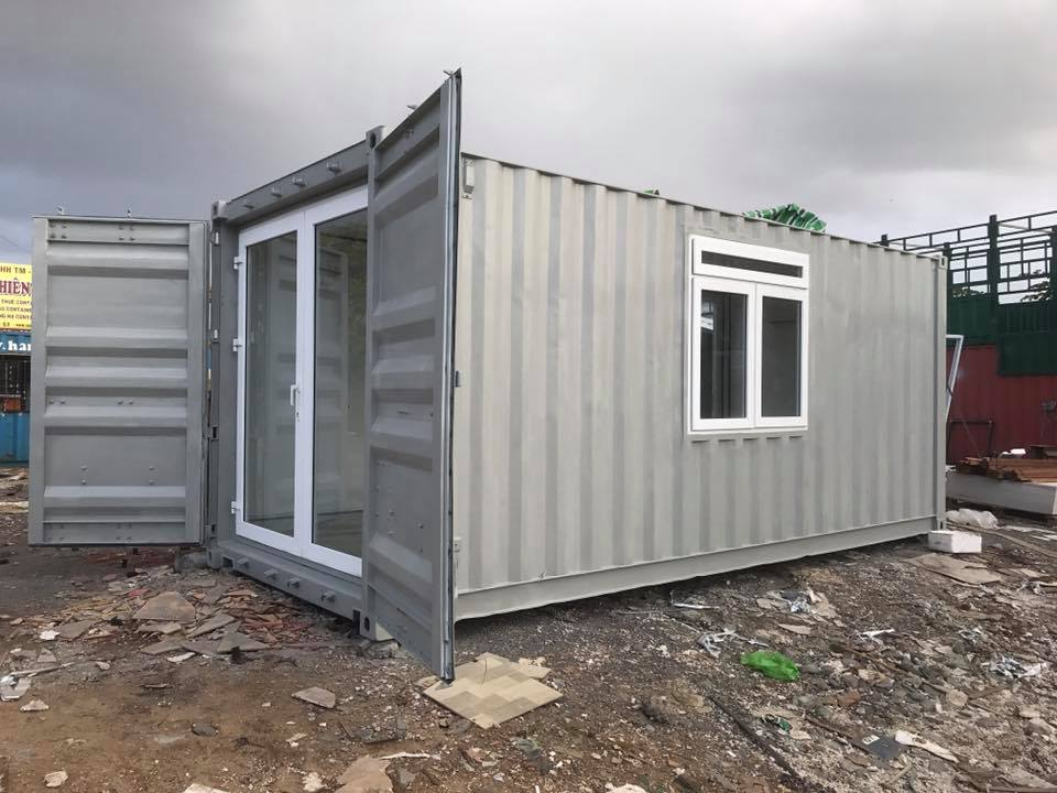 Tây Nam Container | Container Văn Phòng 20 Feet Có toilet